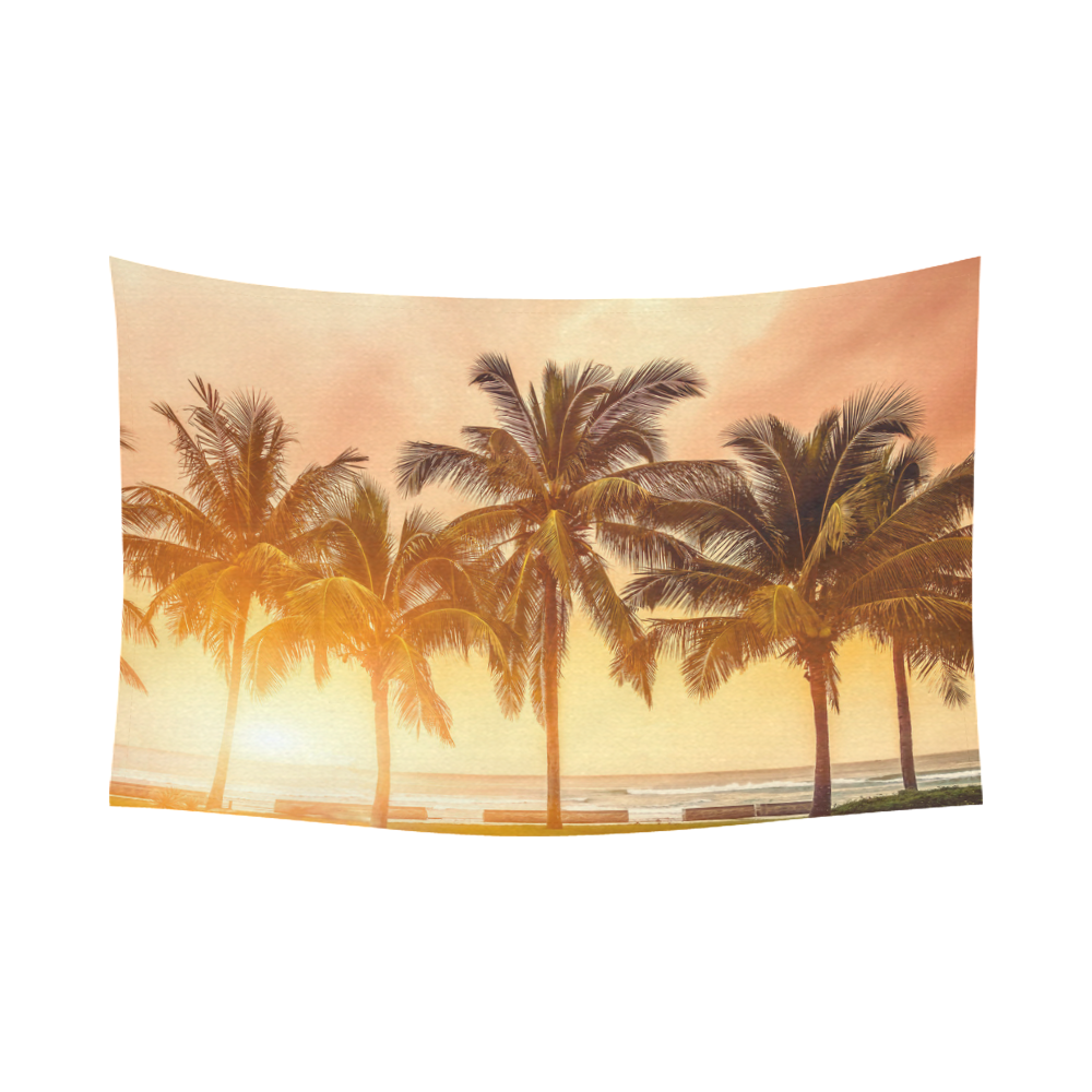 Interestprint Tropical Coconut Palm Tree Beach Sea Ocean Hawaii ...