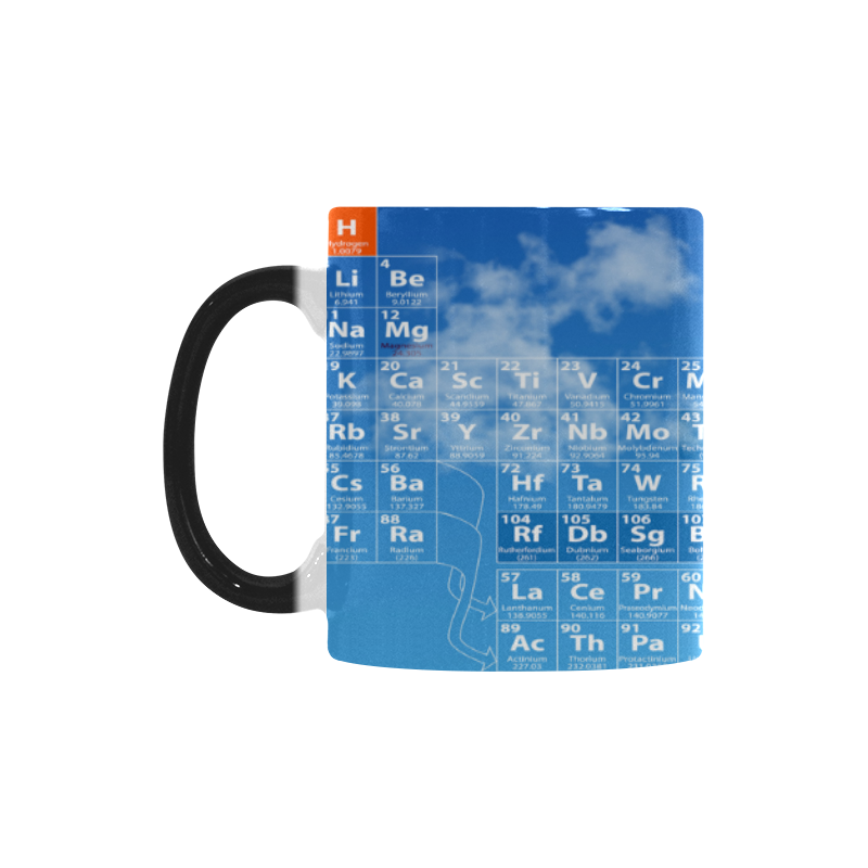 Interestprint 11oz periodic table of elements morphing mug heat interestprint 11oz periodic table of elements morphing mug heat sensitive color changing coffee mug cup with quotes unique funny birthday christmas gifts urtaz Image collections