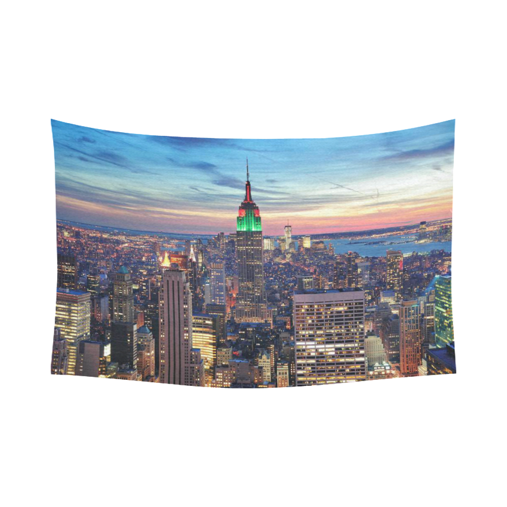 Interestprint cityscape wall art home decor new york city for New york decorations for the home