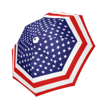 InterestPrint United States of American Flag Foldable Umbrella