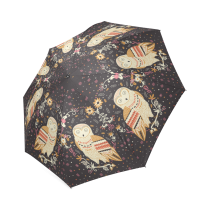 InterestPrint Stylish owl Foldable Rain Umbrella
