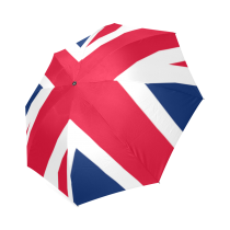InterestPrint Stylish Union Jack British Flag Foldable Umbrella