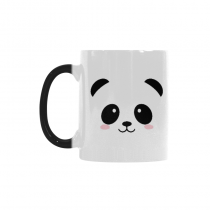 InterestPrint Cute Panda Face Quotes 11oz Color Changing Heat Sensitive Morphing Coffee Mug Tea Cup Travel, Funny Unique Birthday Gift for Men Women Mom Dad Husband Wife Boy Girl Friends Him Her