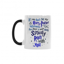 InterestPrint Marauder's Map Quotes 11oz Color Changing Heat Sensitive Morphing Coffee Mug Tea Cup Travel Set - Funny Unique Birthday Gift for Men Women Mom Dad Boy Girl Friends Him Her