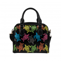 InterestPrint Sea Turtle Colorful Pattern Women's Shoulder Handbag/Tote Bag/Travel Bag