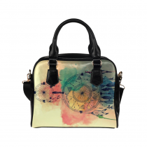 InterestPrint Dreamcatcher Watercolor Women's Shoulder Handbag/Tote Bag/Travel Bag