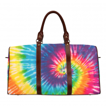 InterestPrint Custom Tie Dye Travel Bag /Duffel Bag/Luggage Bag