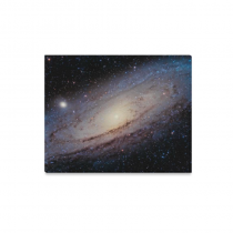 InterestPrint Galaxy Great Andromeda Outer Space Canvas Wall Art Print Painting Wall Hanging Artwork for Home Decoration