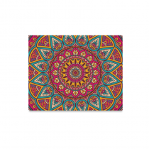 InterestPrint Abstract Mandala Vintage Indian Pattern Canvas Wall Art Print Painting Wall Hanging Artwork for Home Decoration