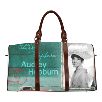 InterestPrint Custom Audrey Hepburn Travel Bag /Duffel Bag/Luggage Bag/Weekender Bag