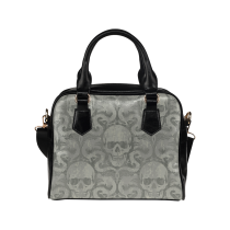 InterestPrint Animal Sugar Skull Dia De Los Muertos Women's Shoulder Handbag/Tote Bag/Travel Bag