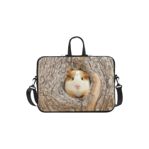 InterestPrint Classic Personalized Cute Gerbil in Tree Hole Forest Woods 13  - 13.3  /Macbook Pro Air 13 Inch Laptop Sleeve Case Bags Skin Cover for Lenovo, GW, Acer, Asus, Dell, Hp, Sony, Toshiba