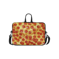 InterestPrint Classic Personalized Food Delicious Pizza 15.4  - 15.6  /Macbook Pro 15 Inch Laptop Sleeve Case Bags Skin Cover for Lenovo, GW, Acer, Asus, Dell, Hp, Sony, Toshiba