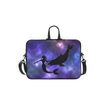 InterestPrint Custom Galaxy Space Universe Mermaid Silhouette Shark 13  - 13.3  /Macbook Pro Air 13 Inch Laptop Sleeve Case Bags Skin Cover for Lenovo, GW, Acer, Asus, Dell, Hp, Sony, Toshiba