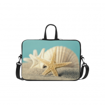InterestPrint Classic Personalized Starfish Seashell Seashore Beach Sea Life 15.4  - 15.6  /Macbook Pro 15 Inch Laptop Sleeve Case Bags Skin Cover for Lenovo, GW, Acer, Asus, Dell, Hp, Sony, Toshiba