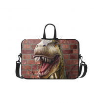 InterestPrint Classic Personalized Animal Dinosaur Breaks the Wall 15.4  - 15.6  /Macbook Pro 15 Inch Laptop Sleeve Case Bags Skin Cover for Lenovo, GW, Acer, Asus, Dell, Hp, Sony, Toshiba