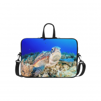 InterestPrint Custom Animal Sea Turtle under Sea Ocean Life Coralal 15.4  - 15.6 /Macbook Pro 15 Inch Laptop Sleeve Case Bags Skin Cover for Lenovo, GW, Acer, Asus, Dell, Hp, Sony, Toshiba