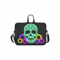 InterestPrint Classic Personalized Flower Sugar Skull Dia De Los Muertos 13  - 13.3  /Macbook Pro Air 13 Inch Laptop Sleeve Case Bags Skin Cover for Lenovo, GW, Acer, Asus, Dell, Hp, Sony, Toshiba