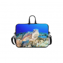 InterestPrint Custom Animal Sea Turtle under Sea Ocean Life Coralal 13 - 13.3 /Macbook Pro Air 13 Inch Laptop Sleeve Case Bags Skin Cover for Lenovo, GW, Acer, Asus, Dell, Hp, Sony, Toshiba