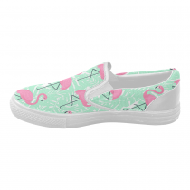 InterestPrint Flamingo  Casual Slip-on Canvas Women's Fashion Sneakers Shoes