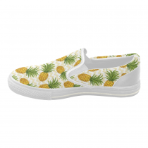 InterestPrint Pineapple Casual Slip-on Canvas Women's Fashion Sneakers Shoes