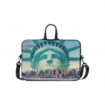InterestPrint Personalized The Statue of Liberty New York NY City Skyline 15.4  - 15.6  /Macbook Pro 15 Inch Laptop Sleeve Case Bags Skin Cover for Lenovo, GW, Acer, Asus, Dell, Hp, Sony, Toshiba
