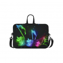 InterestPrint Personalized Music Note Bling Glitter 15.4  - 15.6 /Macbook Pro 15 Inch Laptop Sleeve Case Bags Skin Cover for Lenovo, GW, Acer, Asus, Dell, Hp, Sony, Toshibaorful 15.4  - 15.6