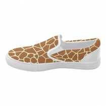 InterestPrint Cute Giraffe Casual Slip-on Canvas Women's Fashion Sneakers Shoes