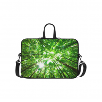 InterestPrint Custom Green Trees Forest Woods Sun 15.4  - 15.6  /Macbook Pro 15 Inch Laptop Sleeve Case Bags Skin Cover for Lenovo, GW, Acer, Asus, Dell, Hp, Sony, Toshiba