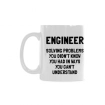 InterestPrint Engineer. Solving problems - 11 OZ Coffee Mugs