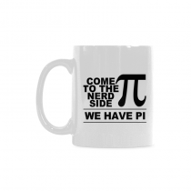 InterestPrint Come to the nerd side, we have PIE - 11 OZ Coffee Mugs