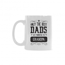InterestPrint This Dad is being promoted to Grandpa, Retired And Funny - 11 OZ Coffee Mug