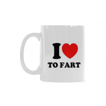 InterestPrint I love to fart - 11 OZ Coffee Mugs