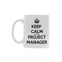 InterestPrint Keep Calm I'm a Project Manager - 11 OZ Coffee Mugs