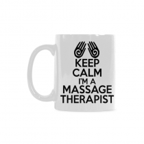 InterestPrint - Keep Calm I'm a Massage Therapist - 11 OZ Coffee Mugs