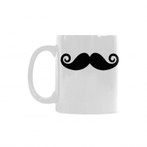 InterestPrint- Moustache, Mustache - 11 OZ Coffee Mugs