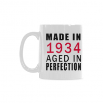 InterestPrint-Made in 1934, aged to perfection BLACK