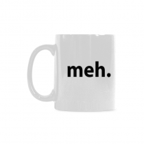 InterestPrint- Meh - 11 OZ Coffee Mugs