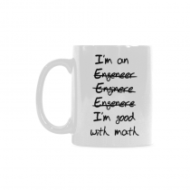 InterestPrint-I'm An Engineer Good with Math BLACK13F37 - 11 Oz Coffee Mug