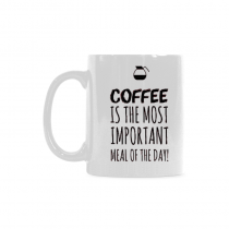 InterestPrint - The  MUST  important meal of the day, dog lovers - 11OZ ceramic coffee mugs