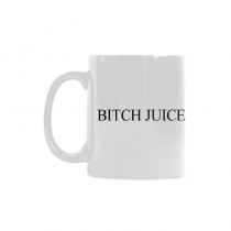 InterestPrint  - Bitch juice red flower - 11OZ ceramic coffee mugs