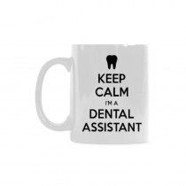 InterestPrint - Keep Calm I'm a Dental Assistant- 11 OZ Coffee Mugs