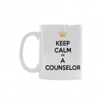 InterestPrint-    Keep Calm I'm a Counselor  - 11 OZ Coffee Mugs