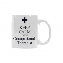 InterestPrint-  Keep Calm I'm an Occupational Therapist  - 11 OZ Coffee Mugs