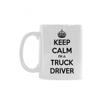 InterestPrint- keep calm im a truck driver -11 OZ Coffee Mugs