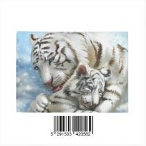 InterestPrint Sweet Home Modern Collection Custom tigers Indoor Soft Carpet Area Rug 7' x 5'
