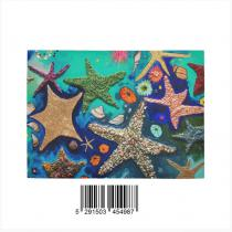 InterestPrint Sweet Home Modern Collection Custom Starfish Indoor Soft Carpet Area Rug 7' x 5'