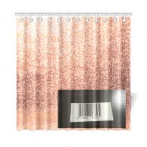 custom beautiful dots shower curtain