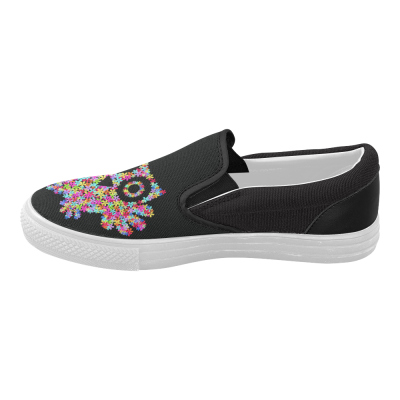 InterestPrint Cute Owl Casual Slip-on Canvas Women's Fashion Sneakers Shoes