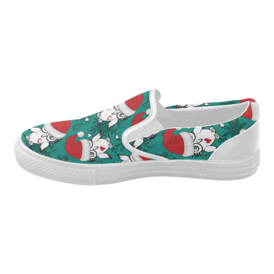 InterestPrint Funny Owl Casual Slip-on Canvas Women's Fashion Sneakers Shoes